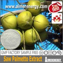 Pharmaceutical Grade antibacterial Saw Palmetto Extract Fatty acid 25%, 45% $zhanwei$