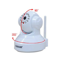 HW0024 Wanscam Security IP Dome Camera 1.0 Mega px 720P HD TF-Card IR-Cut Special Monitoring Network Cameras
