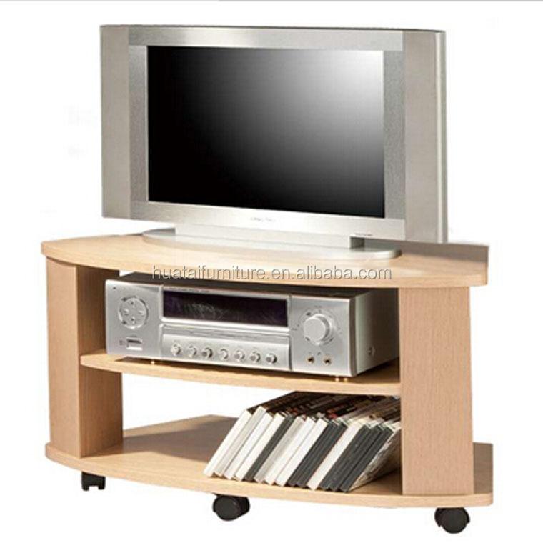 legno angolo stand tv di progettazione stand televisione vivente ...