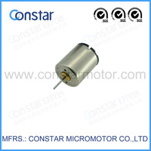 6V 5500rpm 130mA load current low price coreless motor,small slotless motor