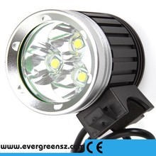 Crazy sales !3 T6 4000lm LED Bike Front Light, Sports LED Bike Headlight, Mountain Bicycle Front Light