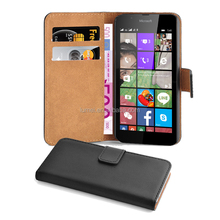 Scratch Proof PU Leather Phone Case Cover With Stand Card Slots For Nokia Microsoft Lumia 540