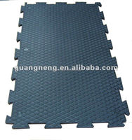 Anti-Slip and Anti-Fatigue Horse Stall Mats, Cow and Horse Rubber Mat, Animal Rubber Mat