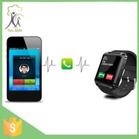 New product U8 bluetooth smart wrist watch high quality bluetooth watch phone