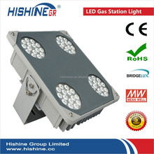 gas station lighting IP65 meanwell 60w 75w 90w 120w led gas station canopy light for sale