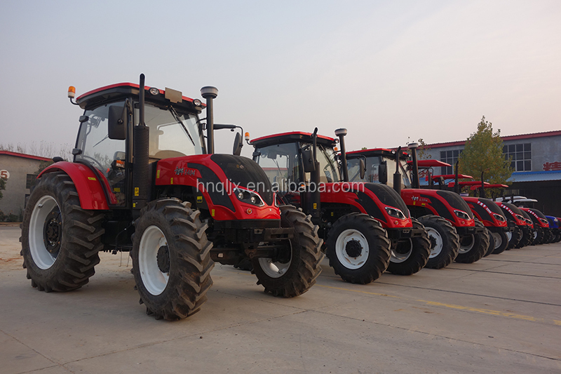 Large 4 Wheel Drive Tractors : Large agricultural equipment wheeled farming tractor hp
