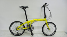 GM-F011 20inch alloy frame 18speed lightweight folding bicycle