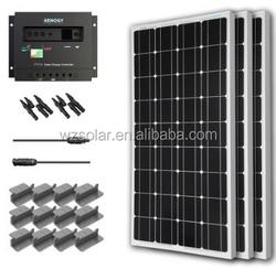 300W/36V Monocrystalline Silicon PV Solar Panel
