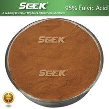95% Fulvic Acid powder fertilizer and Customized Formulations