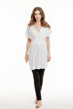 Chic And Classical White Maternity Clothing Maternity Wear Maternity Tops for Wholesale WD024