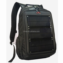 Black travel portable solar charger bags for mobile phones