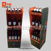 wine bottle opener display rack,wine box/ beer carrier