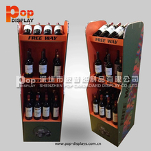 wine bottle opener display rack,wine box/ beer carrier