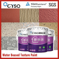 Water based special effect wall paint