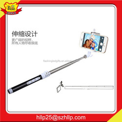 Best Selling Mobile Accessories Colorful Wireless Monopod Bluetooth Selfie Stick