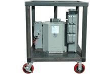Compact Portable Power Distribution Panel System w/ Wheels - 480V Three Phase - 120V Single Phase