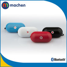 Low Price Portable Wireless Bluetooth Speaker Pill Shape With FM Radio MP3 Player TF Slot