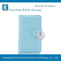[kayoh] fitted back battery cover flip pu leather case pouch for LG L45