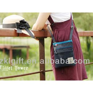 2017 Shenzhen Fashion Girls Sling Bag con Tessuto di Tela, Mini Travel Spalla Borsa per la Promozione