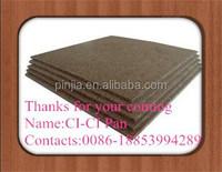 3mm4mm high quality reasonable price melamine faced hardboard waterproof
