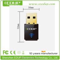 WIFI USB Wireless 1000MW 150M LAN Adapter 6DBI 802.11b/n/g Antenna Blueway High