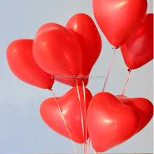 High quality latex balloon party decoration 10 inch heart balloon