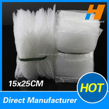 15*25cm Diret Manufactory Plastic Air Bubble Bag OEM Avaliable