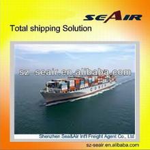 ocean shipping agency from Shenzhen or Guangzhou to Europe