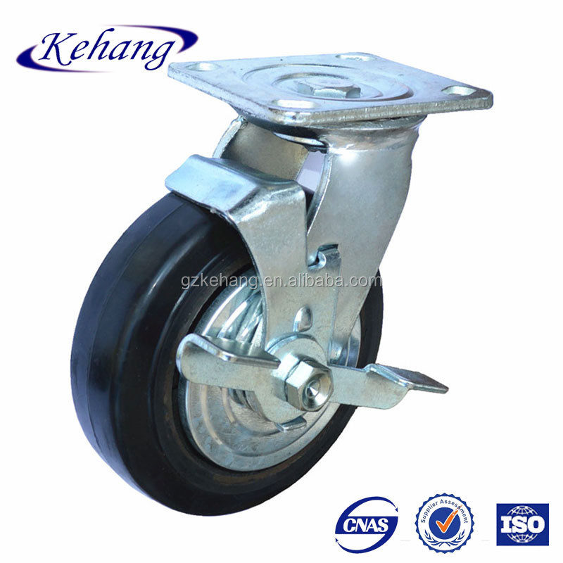 Rubber Wheel 8 Inch,China Supplier Industrial Swivel Casters For ...