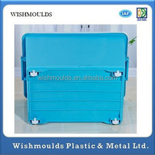 Plastic Storage Box/Bin/Container with Handle and Wheels