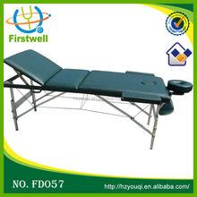 folding massage facial bed light aluminum massage tables&beds