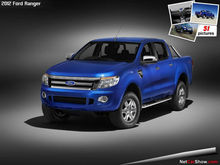 Ford Ranger 2012-Engine AND Body Parts