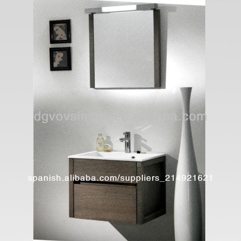 Moderno colgante de lujo moderno de madera de roble cuarto - Muebles de bano de lujo ...