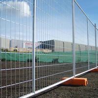 Galvanized steel temporary fence net