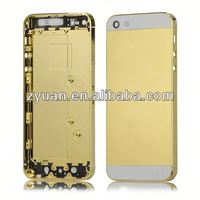 For iphone5S 5 Rear Back Cover & Mid frame Replacement part