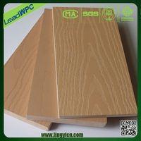 factory price wood plastic deck wood furniture patio sheet