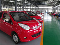 2014 new small family cars cheap electric car with eec made in china