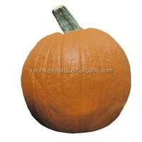 hot sale small plastic pumpkin/wholesale foam pumpkin home decoration /artificial fruit pumpkin