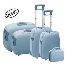 BUBULE```HOT travel luggage Set! PP luggage set SUITCASE/TROLLEY CASE--5 pcs suircase set