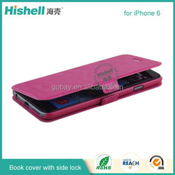 Official PU leather Case for iphone 6 filp leather mobile phone case