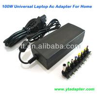 100V-240V 100W 15v universal adapter with usb 8 tips for home