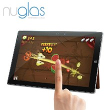 Nuglas Best Quality Electroplated Tempered Glass Screen Protector for Microsoft Surface Pro 3