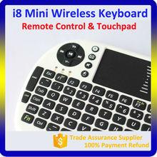 USB 2.4G Wireless Keyboard Mini Keyboard with Touchpad Keyboard Mouse