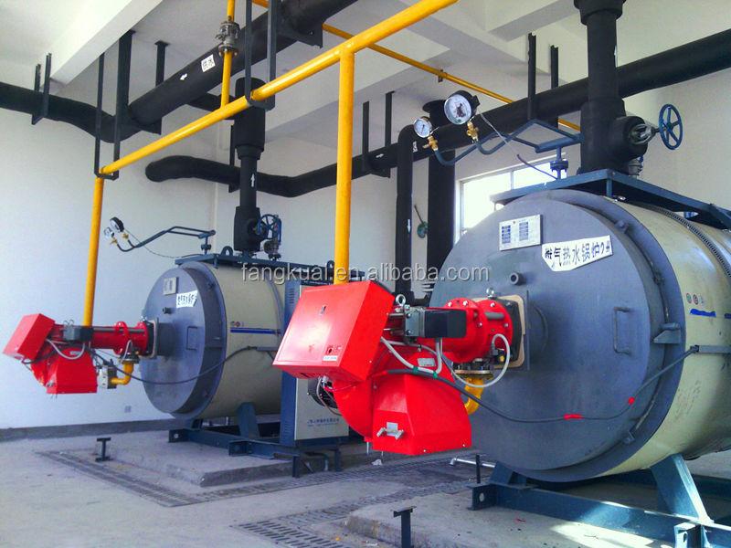 الغاز أو النفط المراجل البخارية الصناعية غلاية ماء ساخن لخط الانتاج في أستراليا