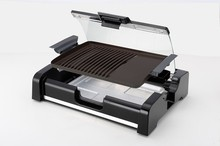 Electrical Table BBQ Griller with Detachable Oil Collector 2014 Special Gift