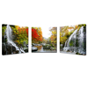 Natural Autumn Wall Art/Wall Painting Canvas Landscape Pictures Art/Red Maple Tree Canvas Wall Art