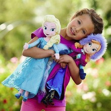 2015 Hot Sale Frozen Fever 50cm Elsa and Anna Frozen Plush Toy, Frozen Toys, Frozen Plush Doll