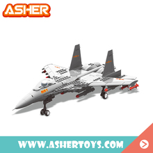 15 fighter model educational toy kit aircraft building blocks for boys