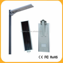 Aluminum Alloy Lamp Body Material and IP65 IP Rating integration solar street light