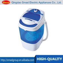 Domestic use single tub mini washing machine with dryer price